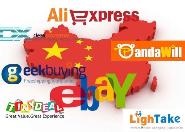 Найкращі азіатські інтернет-магазини Китайські