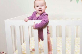 стандартна модель дитячого ліжка