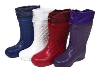 Жіночі гумові чоботи